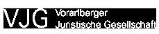 Vorarlberger Juristische Gesellschaft Logo